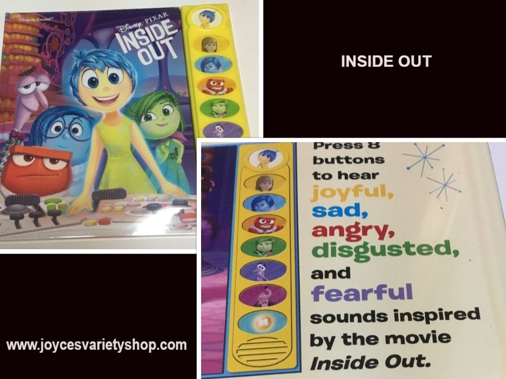 Inside out book web collage