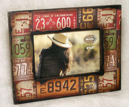 Frame 4x6 license plates