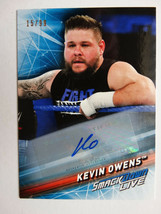 2019 Topps WWE Smackdown #28 Kevin Owens Auto Autograph Wrestling Card 1... - $34.99