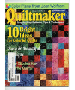 May-June 2004/Quiltmaker/Preowned Craft Magazine - $3.99