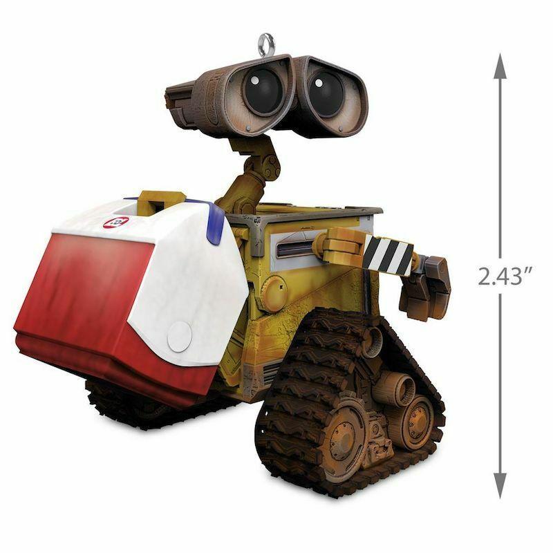 Hallmark Keepsake 2018 Disney 10th WALL-E Christmas Ornament New with Box