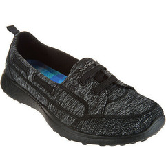 Skechers Topnotch Microburst Bungee Slip-On Shoes Black 8.5 M - $44.54