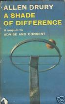 A Shade of Difference by Drury, Allen - $16.99
