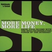 Nightingale Conant More Money More Life by Stephen Pierce 8 CDs $90 Valu... - $39.99