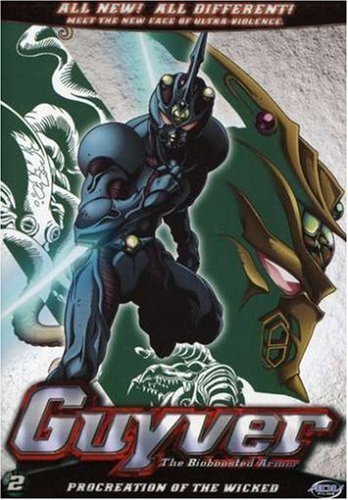 Guyver: The Bio-Boosted Armor Vol. 02 DVD Brand NEW!