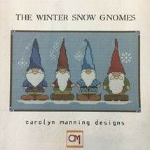 Carolyn Manning Cross Stitch Patterns Gnomes Garden Fairies Winter Geome... - $7.55+