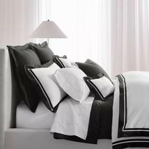 Ralph Lauren Full/Queen Duvet Cover Bowery Metro Grey Pima Cotton MSRP $400 - $165.99