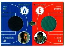 2003-04 Upper Deck West Coast East Coast - #EW-NE/KP - Game Worn Jersey - $5.93