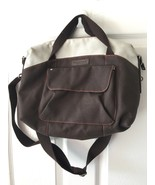 "Timbuk2 Small San Francisco Brown and Beige Messenger Bag Shoulder Bag 15"" EUC - $69.99"