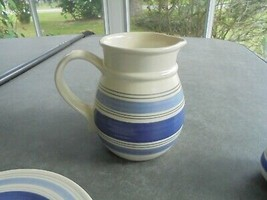 "Pfaltzgraff Rio Large Gravy Boat Pitcher 8"" Tall made in Mexico - $14.85"