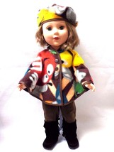 """18"""" Poncho Cape to fit American Girl, My Life, Our Generation - M & M  New - $12.99"""