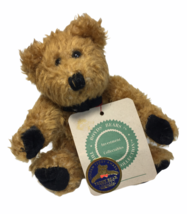 "Boyds Bears Simone Plush Brown Bear Golden Teddy Award Nominee 6"" Jointed TAG - $14.95"