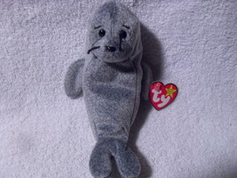 Ty Beanie Baby ~ SLIPPERY the Seal ~ MINT with MINT TAGS ~ RETIRED - $15.00