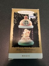 Hallmark Keepsake Babys First Christmas Ornament Magic Series Light & Music 1995 image 1