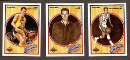 1991-92 UPPER DECK JERRY WEST HEROES 10 CARD INSERT SET - $9.85