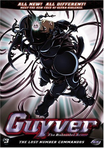 Guyver: The Bio-Boosted Armor Vol. 03 DVD Brand NEW!