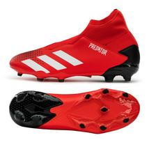 Adidas Jr. Predator 20.3 LL FG Football Shoes Youth Soccer Cleats Red EF1907 - $74.99
