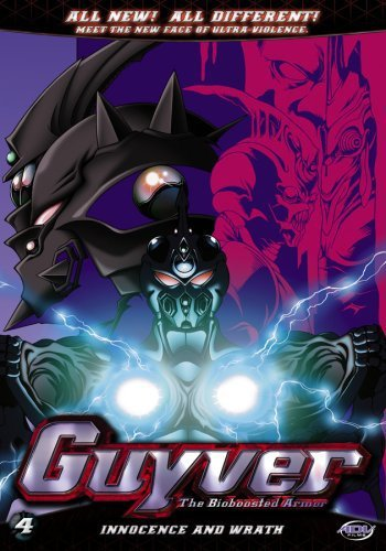 Guyver: Days of Future Past Vol. 04 DVD Brand NEW!