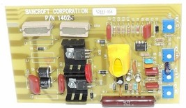 NEW BANCROFT CORP. 14029 REV 2 CIRCUIT BOARD P/N 14025