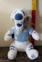 "TIGGER Disney Store Winnie the Pooh  White Plush Blue Sweater Christmas 13"" image 11"