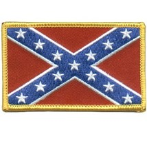 Embroidered Patch Confederate States Battle Flag Patch - $3.95