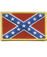 Embroidered Patch Rebel Flag Patch - $3.95