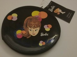 Barbie Black Vinyl Schylling CD Case brand new with tags - $18.51