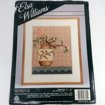 Elsa Williams Needlepoint Kit Peace Rose Still Life byMichael A LeClair 11x14 - $49.99