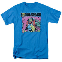 New Judge Dredd Fenced Licensed Adult T Shirt Small Turquoise Screen Print - $9.49