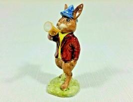 Royal Doulton Bunnykins Character Figurine Rise and Shine Bunnykins Rabbit DB11 - $55.99
