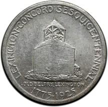 1925 Lexington Silver Commemorative Half Dollar Coin Lot# A 423 image 2