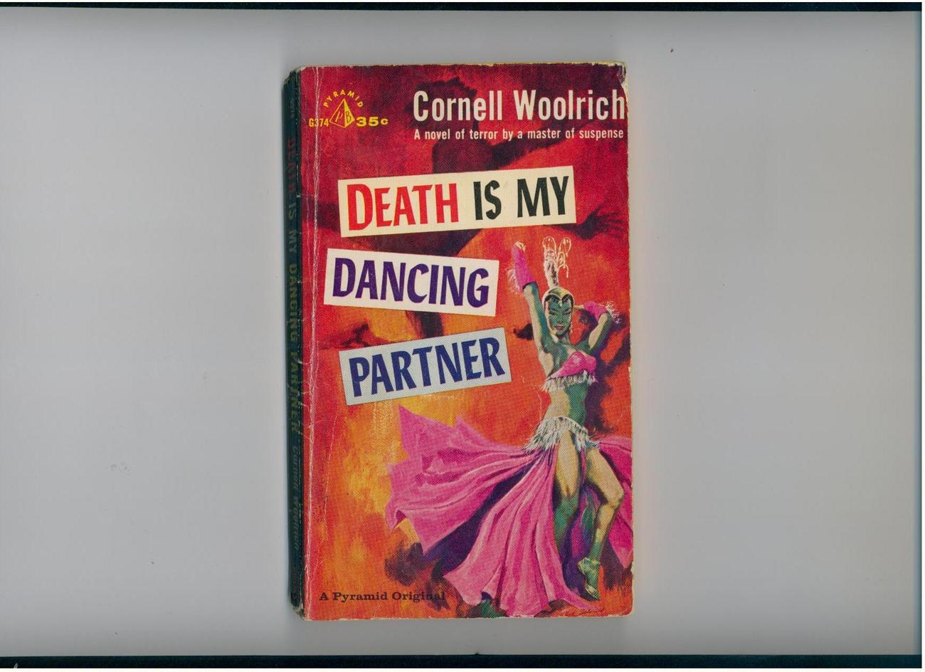 Primary image for Woolrich-DEATH IS MY DANCING PARTNER-1959-pb original