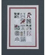 Winter Jumble  cross stitch chart Drawn Thread - $8.10