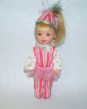 Vintage Kelly Doll in Pink Stripe Suite - $16.82