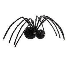 Pottery Barn beaded spider large black   Halloween - $26.99