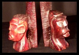African Bookends AB 45 Vintage