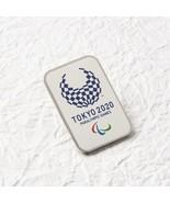 Tokyo 2020 Paralympics Emblem Pin Badge Square from Japan - $13.00