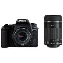 Canon Eos 9000D Dslr Camera Double Zoom Kit Japan Ver. New Free Shipping - $992.09