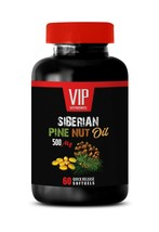 anti inflammatory natural - SIBERIAN PINE NUT OIL 500 - digestion health 1B - $13.98