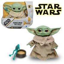 "Star Wars The Mandalorian The Child Talking Baby Yoda 7.5"" Plush with Fr... - $42.56"