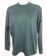Patagonia Womens S Capilene Dk Green Long-Sleeve Pullover Base Layer Mad... - $34.30