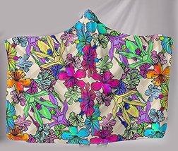 Floral Hooded Blanket - $89.50