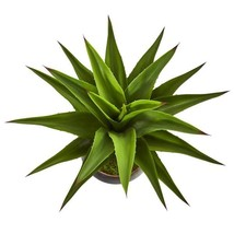 41 in. Agave Artificial Plant in Decorative Metal Bowl - £173.39 GBP