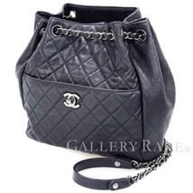 CHANEL Purple Lambskin CC Chain Shoulder Bag A98740 Italy Authentic 4802372 - $2,159.38
