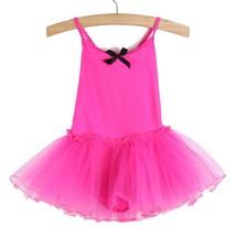 (ROSE size 4T)Simple Princess Tutu Dress For Girls Kids Party Ballet Dan... - $26.00
