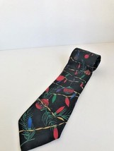 Men's ties by Yule Tie Greetings for Hallmark, Christmas lights and tree... - $10.39