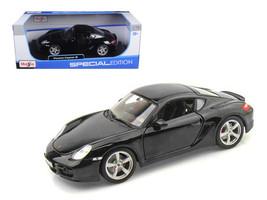 Porsche Cayman S Black 1/18 Diecast Model Car by Maisto - $65.99