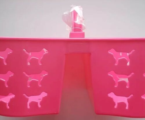 Victoria Geheim Pink Duschablage Hund Logo Schlafraum Tragetasche Plastik image 4