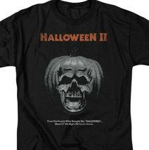 Halloween II t-shirt pumpkin skull retro 80s classic horror graphic tee UNI890 image 3