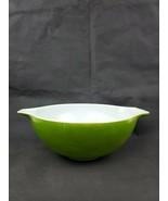 Vintage PYREX 444 Green Verde Large Round Mixing Nesting Cinderella Bowl... - $15.99